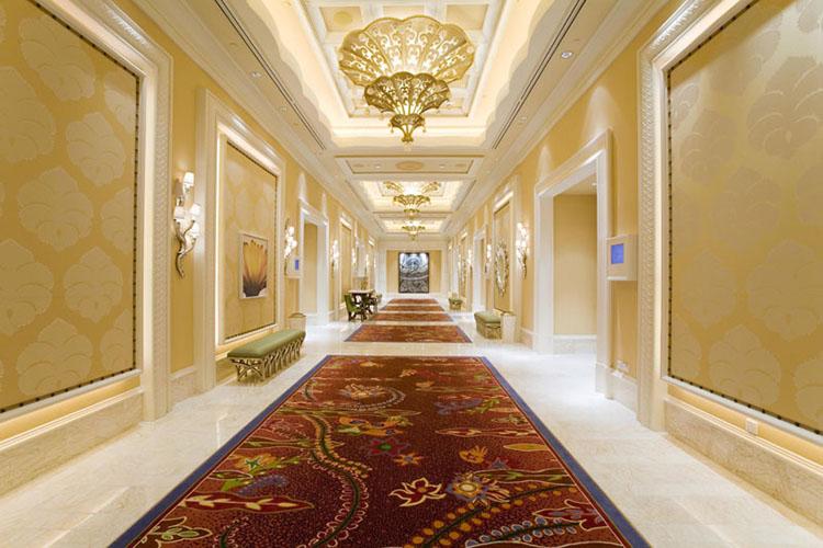 豪華宴會廳和走廊
