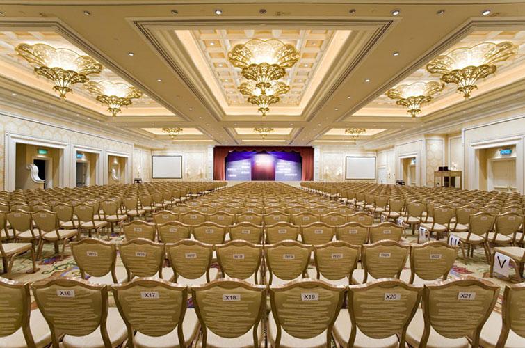 Luxury Ballroom and Promenades
