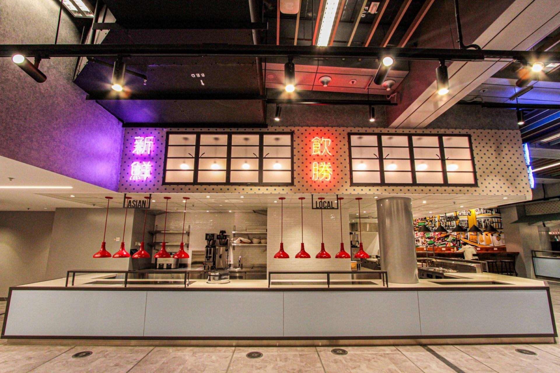 Employee Food Hall